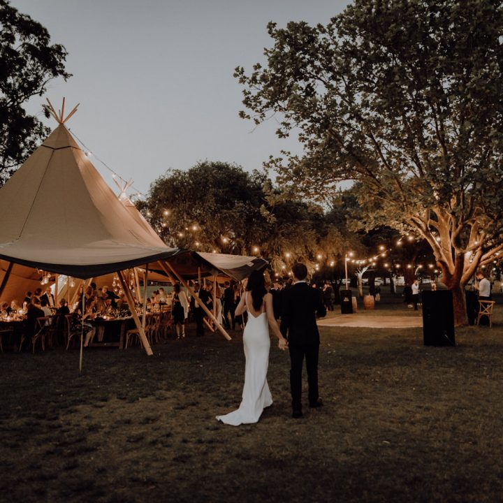 Kate & Andrew's Tipi Wedding